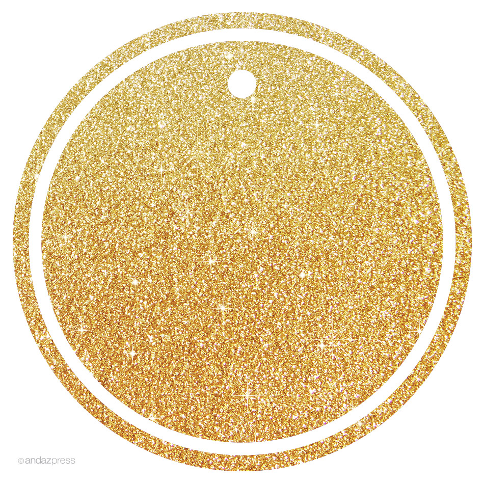 7d8c996204a7 Andaz Press Gift Tags   Party Favor Tags  Solid Blank Circle Gift Tags