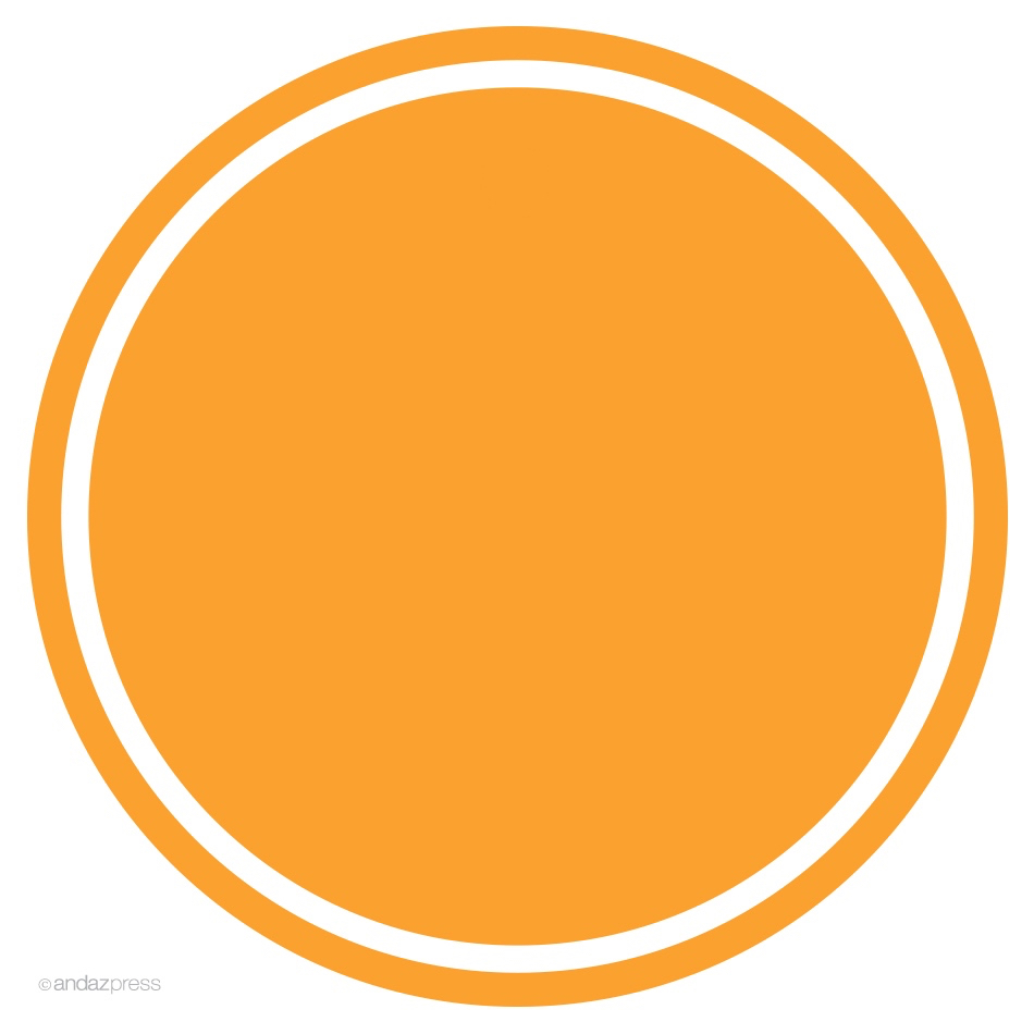 Andaz Press Circle Labels Stickers – Andaz Press