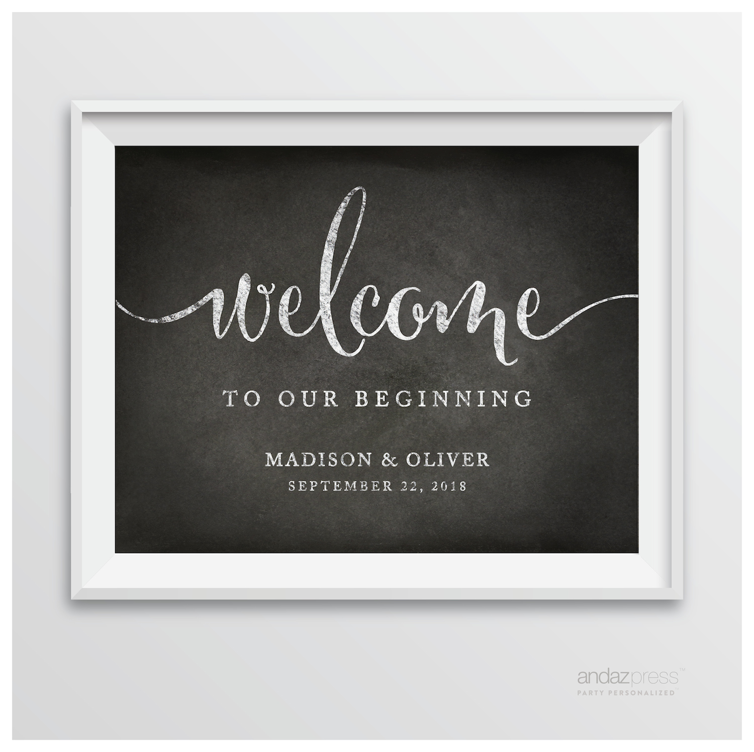andaz press personalized wedding party signs  vintage chalkboard style posters  group 2  u2013 andaz