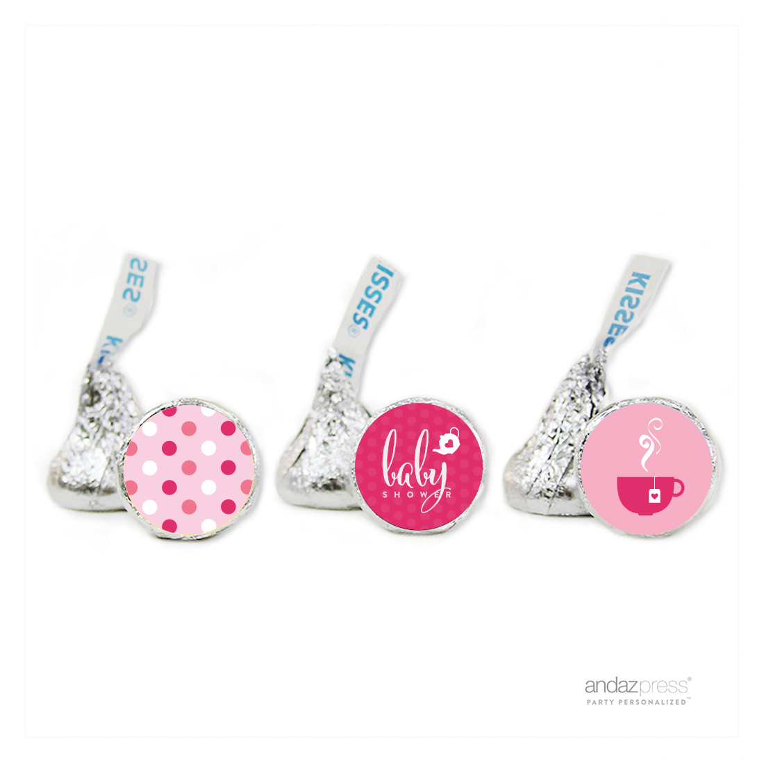 Andaz Press Tea Party Girl Baby Shower Collection Party Chocolate