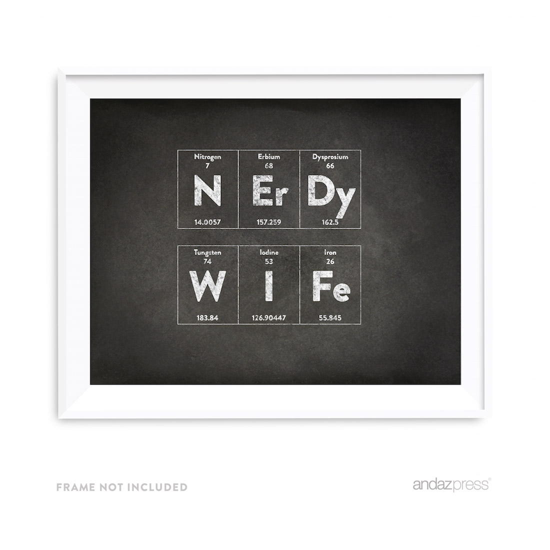 print print print print print print - 8 5 X 11 Periodic Table Of Elements