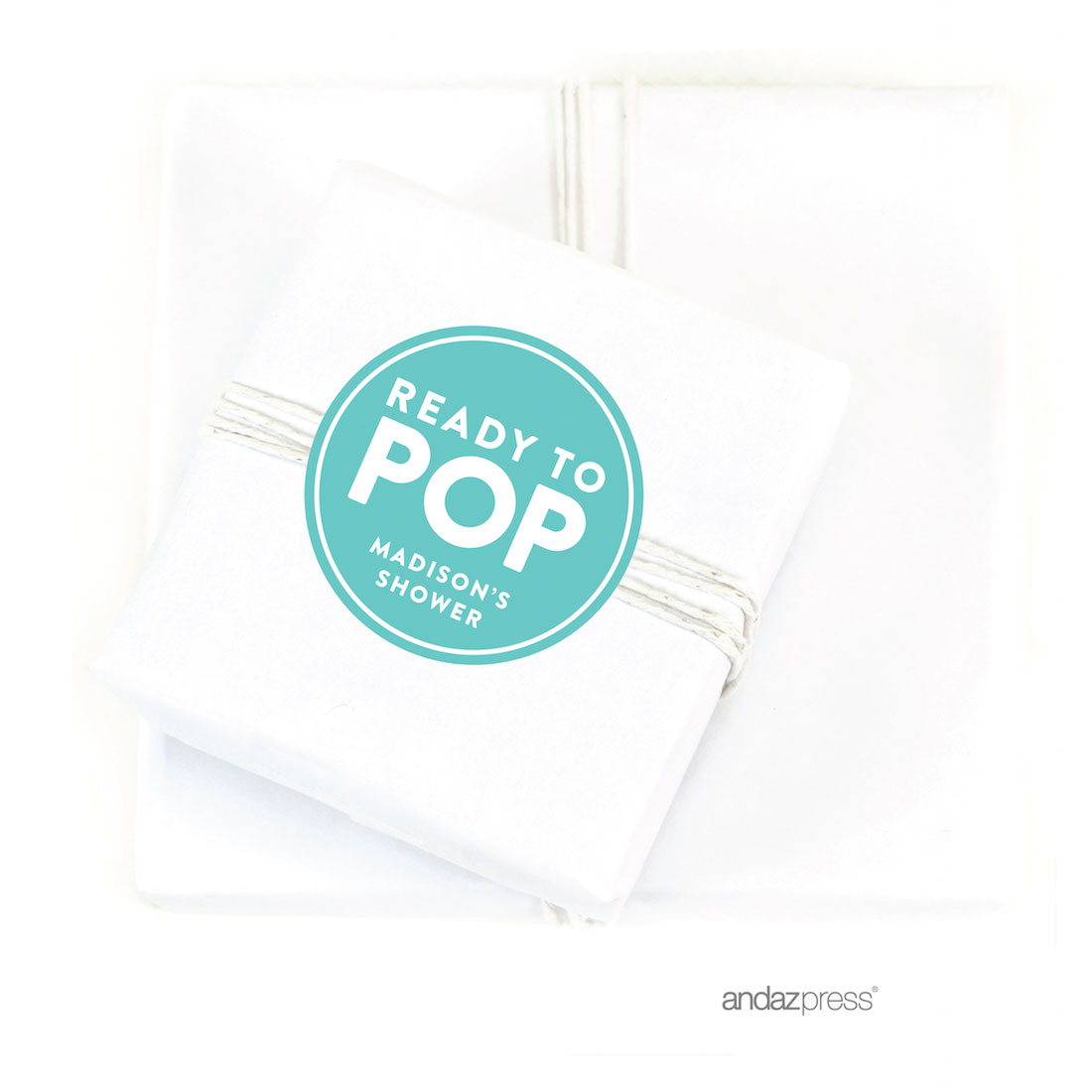 Andaz Press Ready To Pop Baby Shower Collection Favors